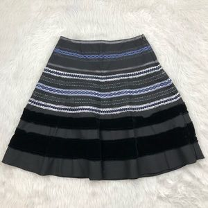 The Limited Black Embroidered Skirt